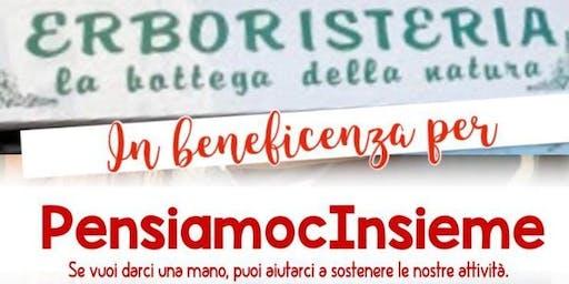 """""""Autumn Party in Beneficenza"""" in Erboristeria"""