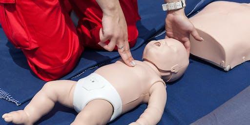 Infant/Child CPR Class (Jan)