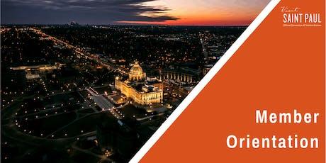 Visit Saint Paul Member Orientation - December 2019 tickets