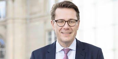 Politik zum Frühstück mit Regierungsrat Benedikt Würth