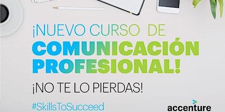 Curso de Comunicación Profesional (4 encuentros) entradas
