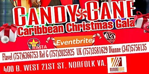 Candy Cane Caribbean Christmas Gala