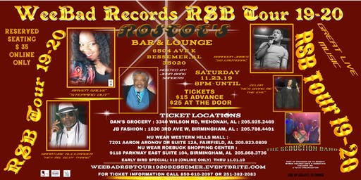 WeeBad Records RSB Tour 19-20