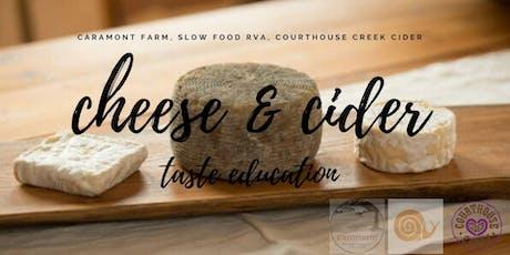 Cider & Cheese tickets