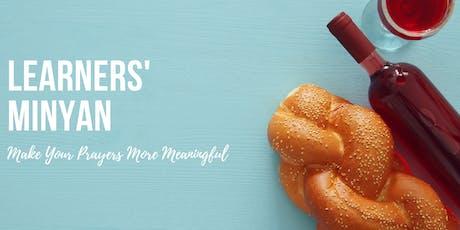 Learners' Minyan - Nov. 23 tickets