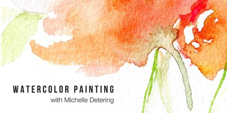 Intro to Watercolor with Michelle Detering tickets