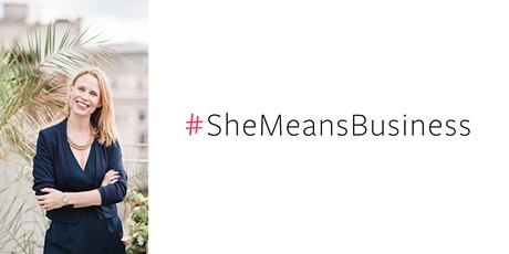 She Means Business: 2020 goals workshop - why wait until January? tickets