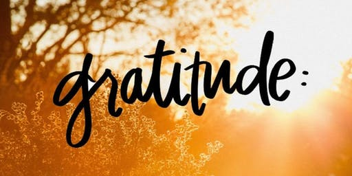 Gratitude:  Thanksgiving Restorative Yoga Workshop