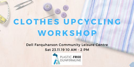 Clothes upcycling workshop