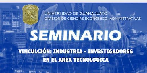 """Vinculación """"Instituciones e Industrias en el área"""