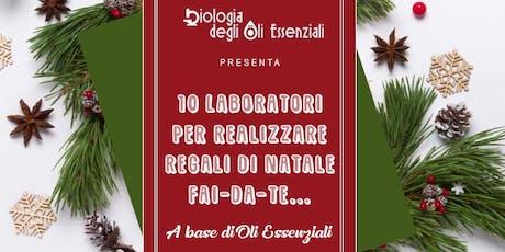 Laboratori per realizzare regali di Natale Essenziali Fai-da-Te biglietti