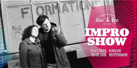 Live: Luv & Lee Improvisationstheater-Show Tickets