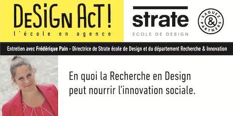 Class Strate - Frédérique Pain, directrice du département Recherche billets