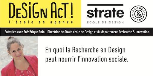 Class Strate - Frédérique Pain, directrice du département Recherche
