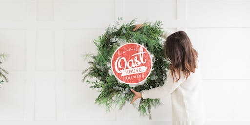 Winter Wreath Workshop at Oast House - 2019
