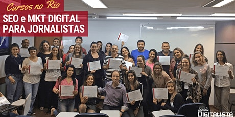 "Cursos ""SEO e Marketing Digital para jornalistas"" no Rio ingressos"