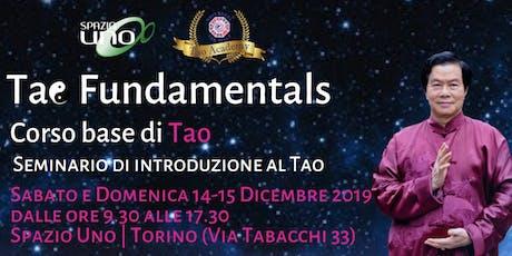 Seminario di introduzione al Tao dagli insegnamenti del maestro Mantak Chia biglietti