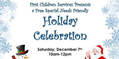 Special Needs Friendly Holiday Celebration in Fanwood