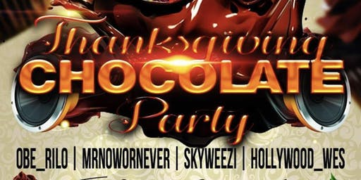 Thanksgiving Chocolate Party