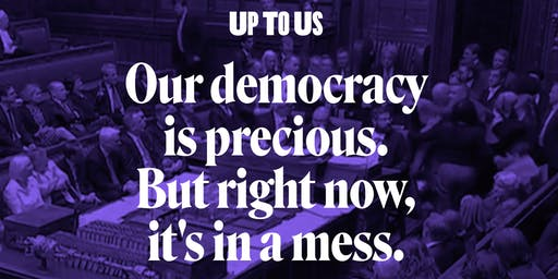 Up To Us - Renewing Democracy