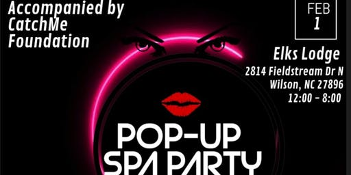 Pop-Up Spa Party