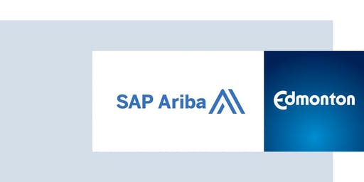 SAP Ariba Training Workshop for Engineers and Architects - hosted by the City of Edmonton