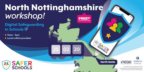 North Nottinghamshire Workshop - Digital Safeguarding in Schools tickets
