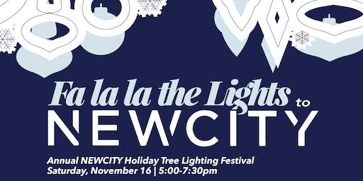 Holiday Tree Lighting at NEWCITY