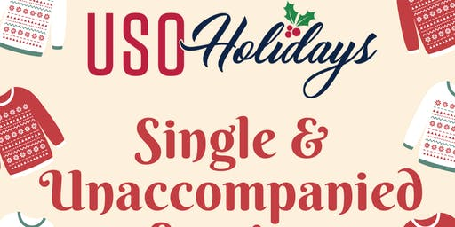 Single and Unaccompanied Service Members' Holiday Party