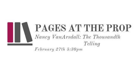 Pages at the Prop feat. Nancy VanArsdale tickets