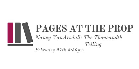 Pages at the Prop feat. Nancy VanArsdall tickets