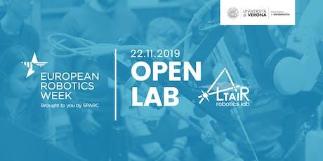Visita al Labratorio di Robotica ALTAIR - Settimana Europea della Robotica biglietti