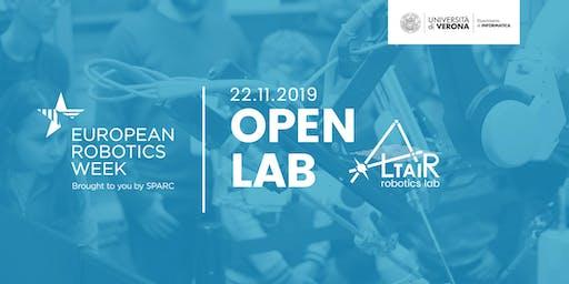 Visita al Labratorio di Robotica ALTAIR - Settimana Europea della Robotica