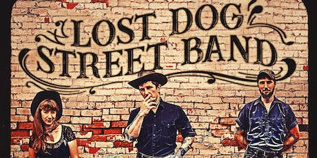 LOST DOG STREET BAND with special guest CASPER ALLEN tickets