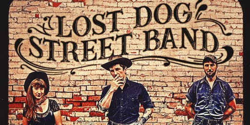 LOST DOG STREET BAND with special guest CASPER ALLEN