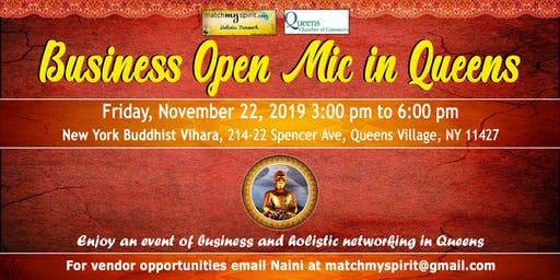 Business Open Mic in Queens