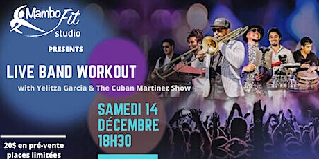 LIVE BAND WORKOUT at MAMBO FIT STUDIO billets