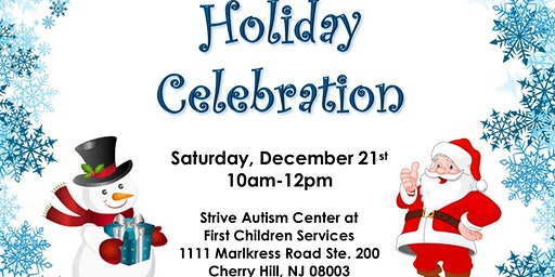 Special Needs Friendly Holiday Celebration in Cherry Hill