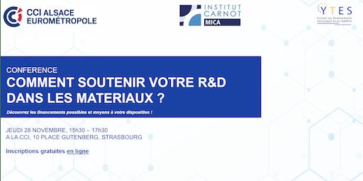 Industriels, financez votre R&D