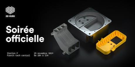 Soirée de lancement 3D Hubs France billets