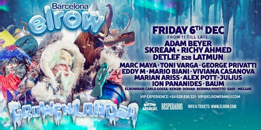 elrow Barcelona - Growenlandia
