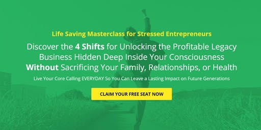 The 4 Shifts to Saving Your Business & Marriage (FREE EVENT) L.A.
