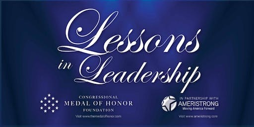 Lessons in Leadership Lecture Series with Medal of Honor Recipient
