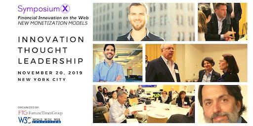 SymposiumX Financial Innovation on the Web - New Monetization Models