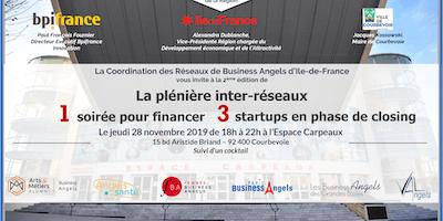 Plénière inter-réseaux Business Angels d'Ile-de-France 2019