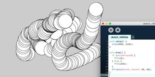 Creative Coding: An Intro to Programming with Processing (13+, Adults)
