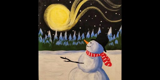 Winter Art Night - Paint Night with Judi Jorge