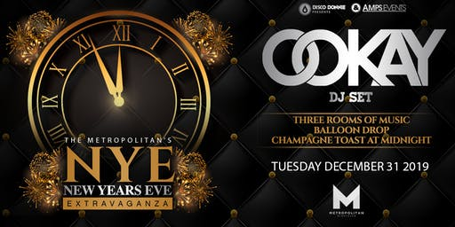 New Years Eve Extravaganza  with OOKAY - New Orleans