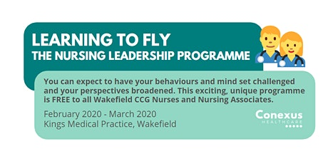 Learning to Fly - The Nursing Leadership Programme tickets