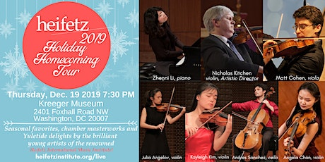 Heifetz Holiday Concert 2019 at the Kreeger Museum tickets